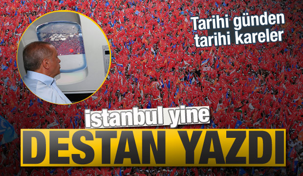 İstanbul yine destan yazdı