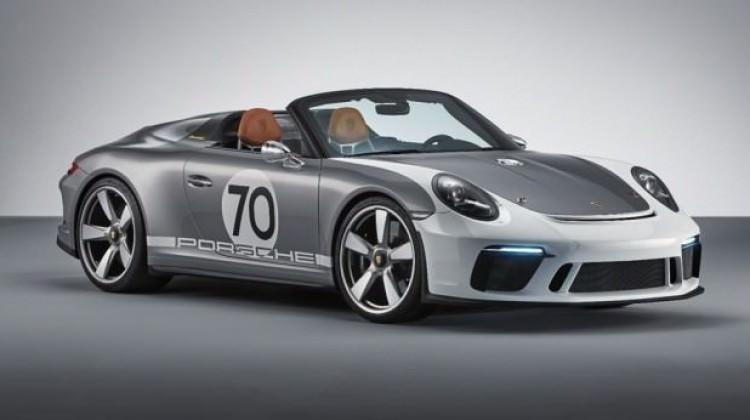 Porsche'den 70. yıla özel Speedster Concept