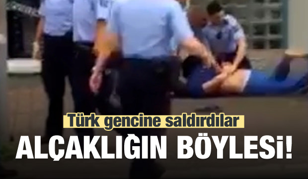 Türk gencine saldırdılar! Alçaklığın böylesi