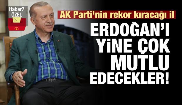 AK Parti'nin rekor kıracağı il