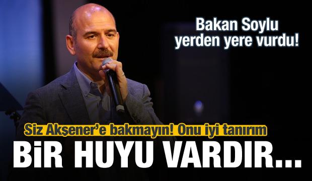 Bakan Soylu: Akşener'i iyi tanırım...