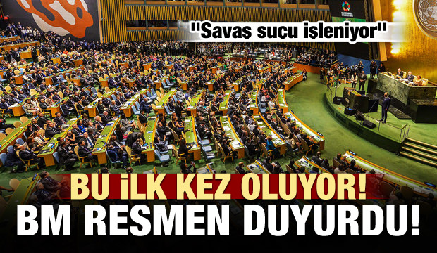 BM duyurdu: Savaş suçu işleniyor