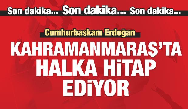 Cumhurbaşkanı Erdoğan konuşuyor...