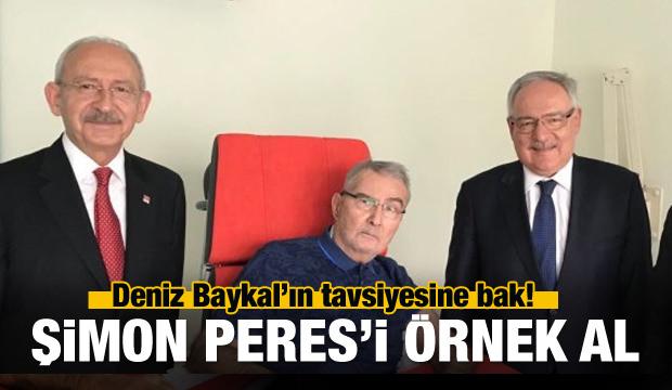 Deniz Baykal'ın tavsiyesi: Şimon Peres'i örnek al