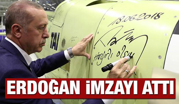 Erdoğan imzayı attı