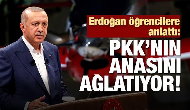 Erdoğan öğrencilere ATAK'ı anlattı
