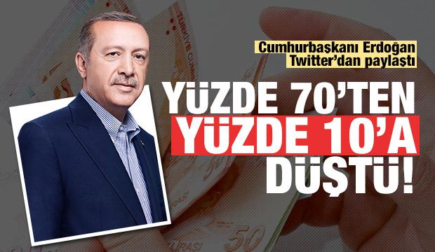 Erdoğan paylaştı, 16 yılda neler yapıldı?