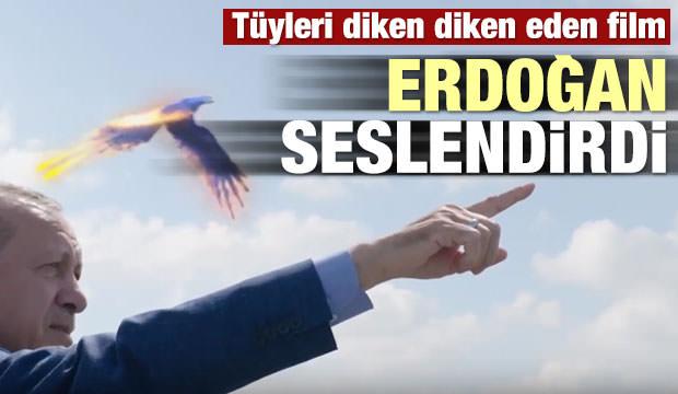 Erdoğan paylaştı! Tüyleri diken diken eden film
