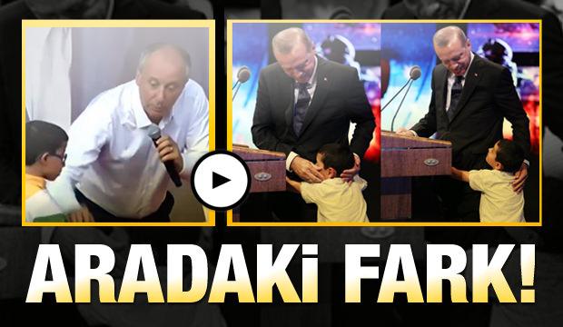 Erdoğan ve İnce arasındaki merhamet farkı
