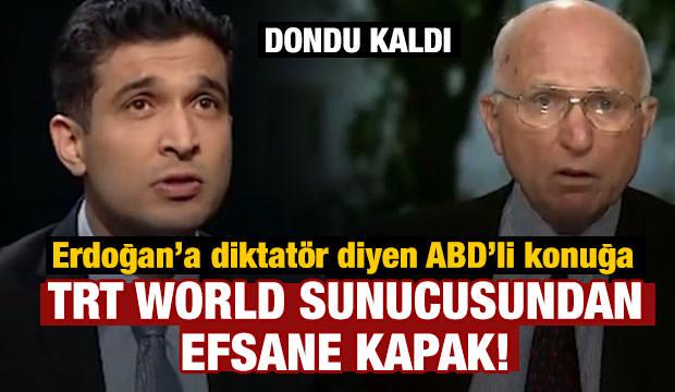 Erdoğan'a diktatör diyen ABD'li konuğa soğuk duş