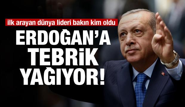 Erdoğan'a dünyadan tebrik yağıyor!