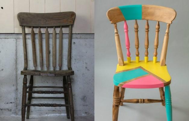 Eski sandalyeleri baştan yaratın!