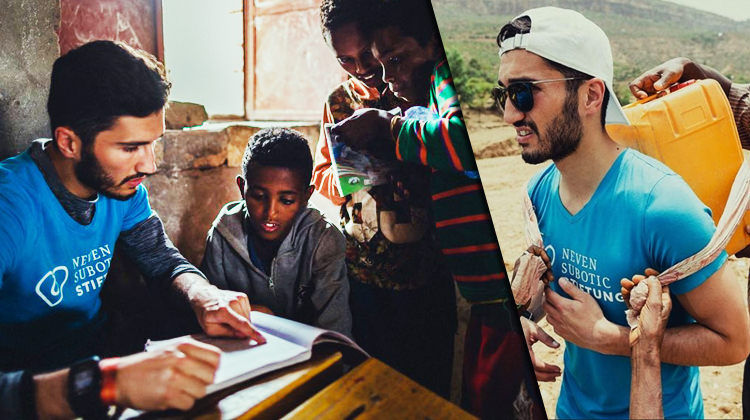 Herkes tatilde Nuri Şahin Etiyopya'da