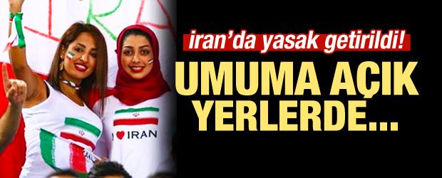 İran'da flaş yasak! Umuma açık yerlerde...
