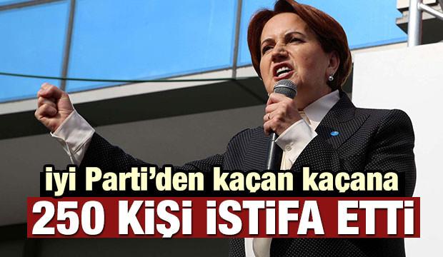 İYİ Parti'de istifa şoku! Topluca bıraktılar