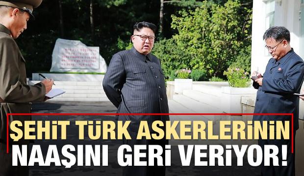 K. Kore şehit Türk askerinin naaşını geri veriyor