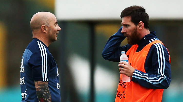 Kader maçı öncesi Arjantin'de şok! Sampaoli...