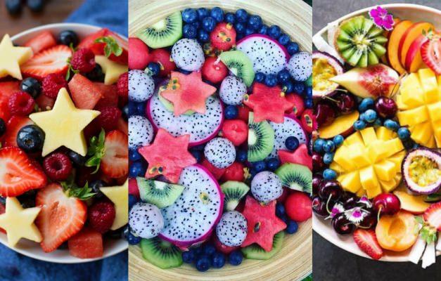 """En sağlıklı tatlı """"Meyve salatası"""""""