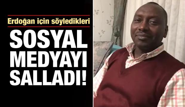 Sudanlı vatandaş sosyal medyayı salladı