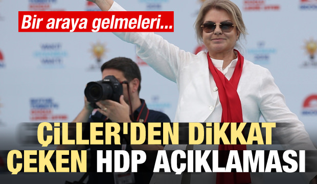 Tansu Çiller'den dikkat çeken HDP açıklaması