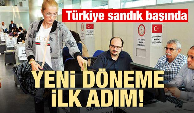 Tarihi seçim! Türkiye sandık başında