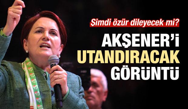 Meral Akşener'i utandıracak görüntü!