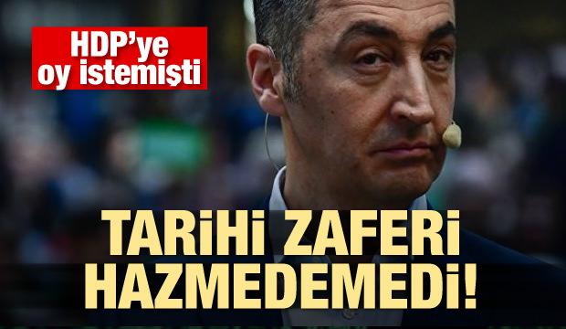 Cem Özdemir'in Erdoğan'ın zaferini hazmedemedi