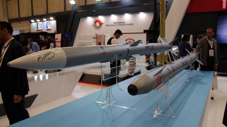 İlk milli hava füzeleri hedefe uçacak