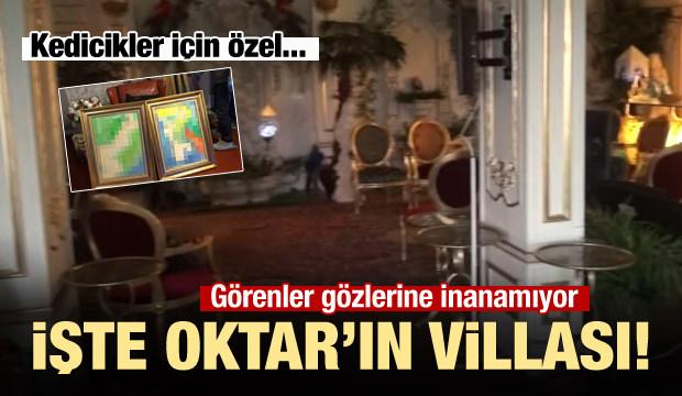 Adnan Oktar'ın villası ilk kez görüntülendi