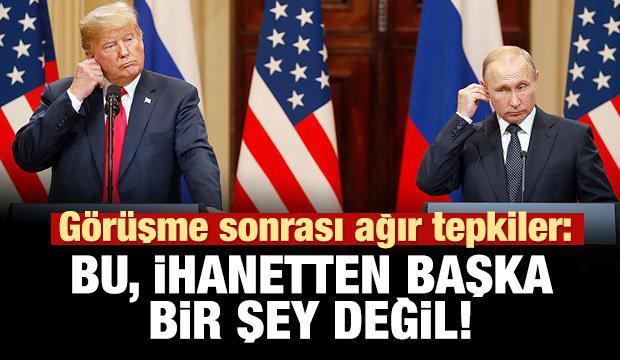 Amerikalılar kızdı: Bu bir ihanet!