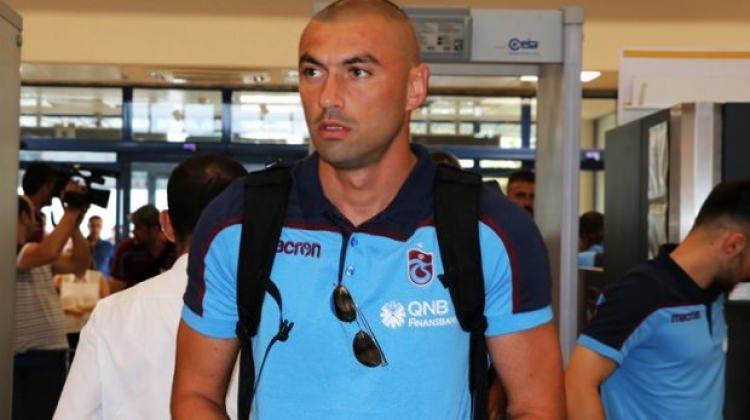 Trabzonspor'dan Beşiktaş'a Burak cevabı