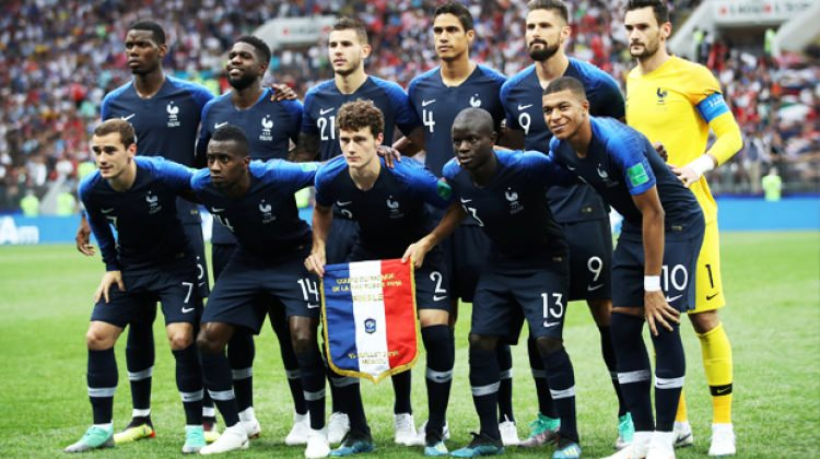 Fransa kadrosunda ilginç detay! Yalnızca 2 isim...