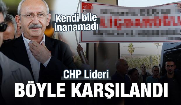 Kemal Kılıçdaroğlu'na ilginç karşılama!