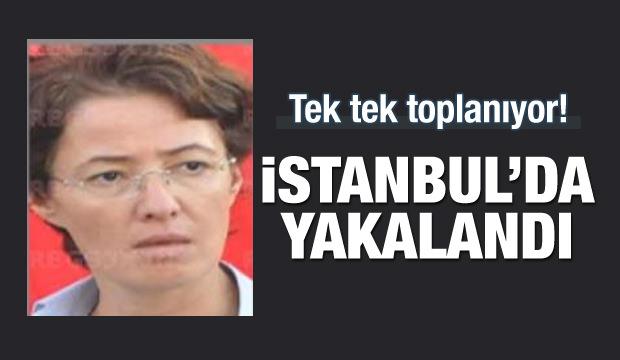 Gri listedeki terörist İstanbul'da yakalandı