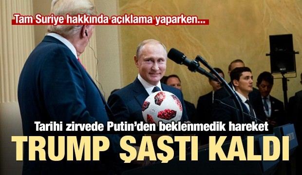Putin-Trump zirvesine damga vuran an! Şaştı kaldı