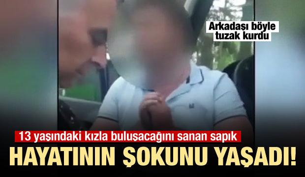 Sapık şoför, karşısında polisi bulunca şoke oldu