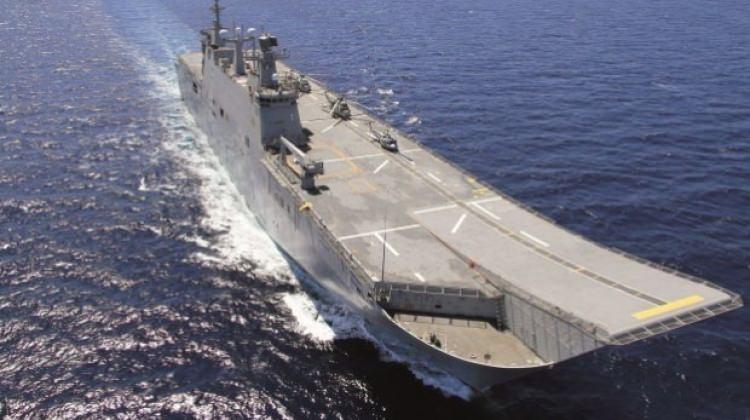 Türkiye'nin ilk uçak gemisinden yeni haber