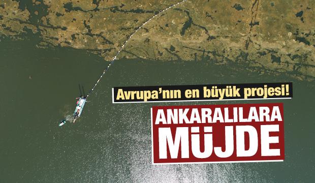 'Ankara'nın denizi' temizleniyor!