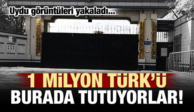 1 milyon Türk'ü burada tutuyorlar! Uydu yakaladı