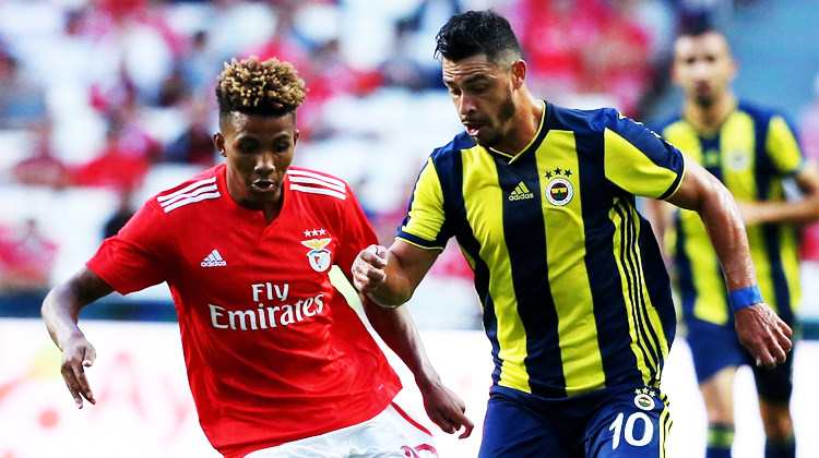 F.Bahçe - Benfica maçında 11'ler belli oldu