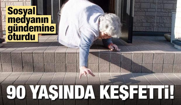 90 yaşından sonra keşfetti!