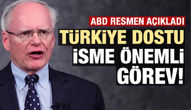 ABD açıkladı: Türkiye dostu isme önemli görev