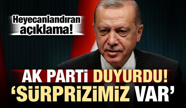 AK Parti duyurdu: Yarın sürprizimiz var!