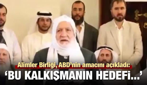 Alimler Birliği'nden Türkiye'ye büyük destek!