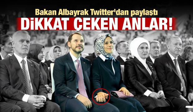 Bakan Albayrak Twitter'dan paylaştı