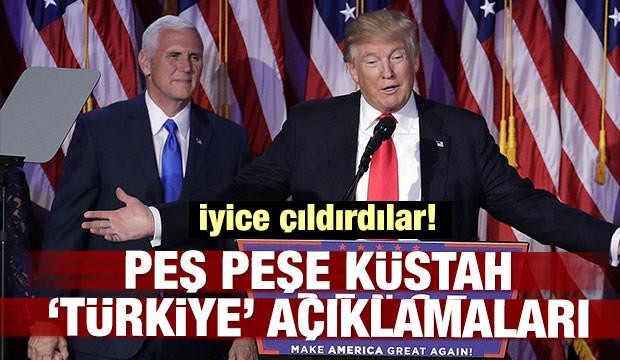 ABD'den peş peşe küstah 'Türkiye' açıklamaları