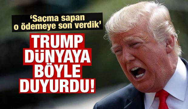 Donald Trump'tan Suriye açıklaması!