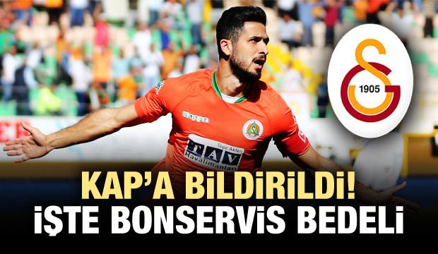 Galatasaray, Emre Akbaba'yı KAP'a bildirdi