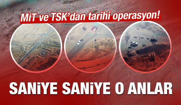 MİT ve TSK'dan tarihi operasyon! İşte görüntüler