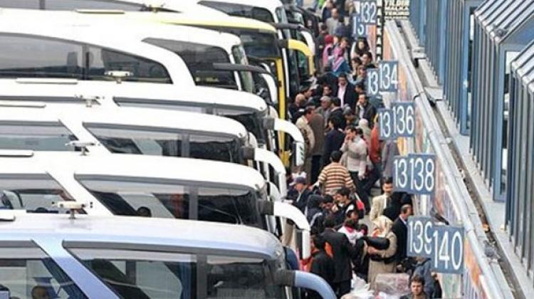 Otogarda Kurban Bayramı yoğunluğu